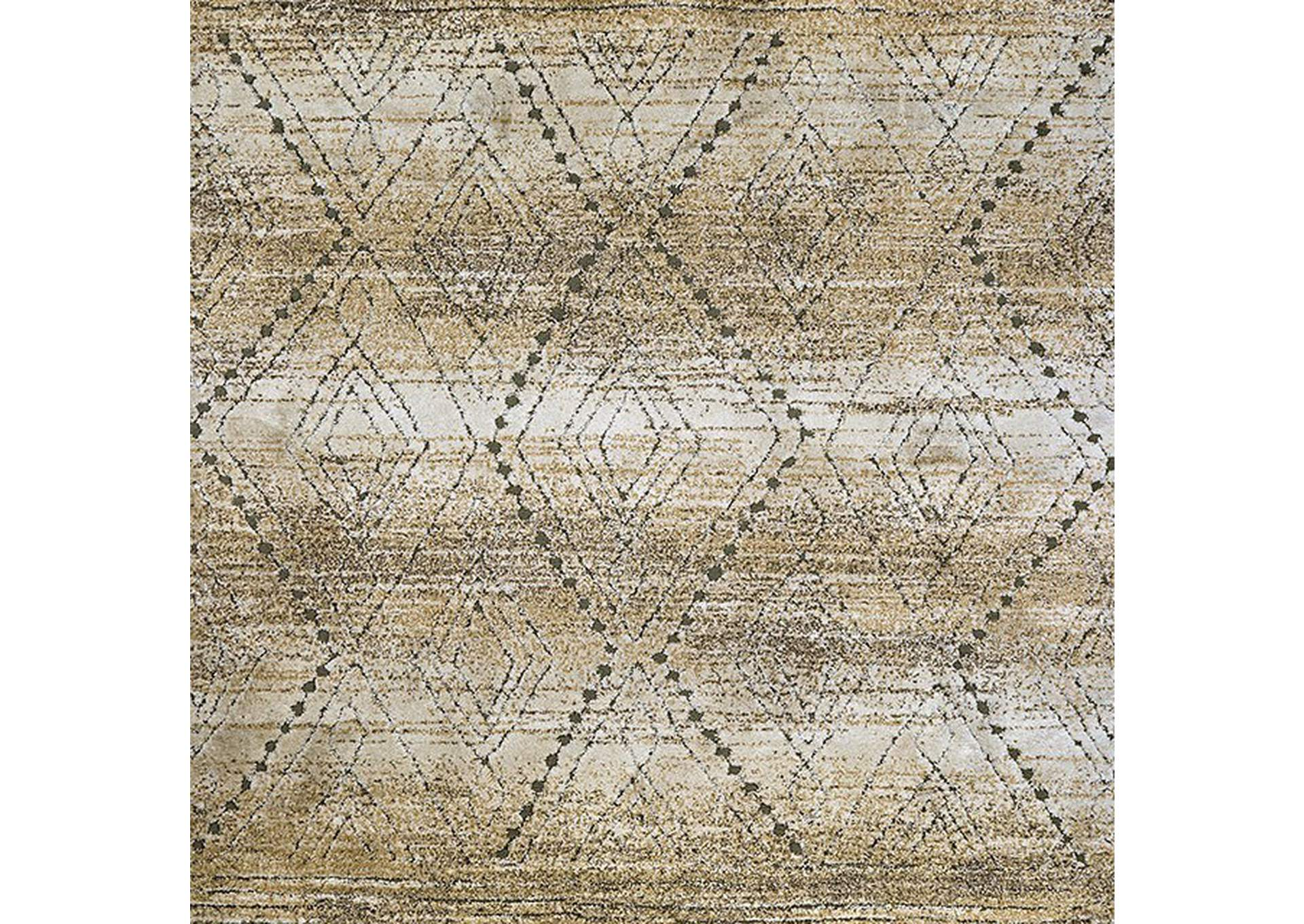 Millsboro Tan Area Rug,Furniture of America