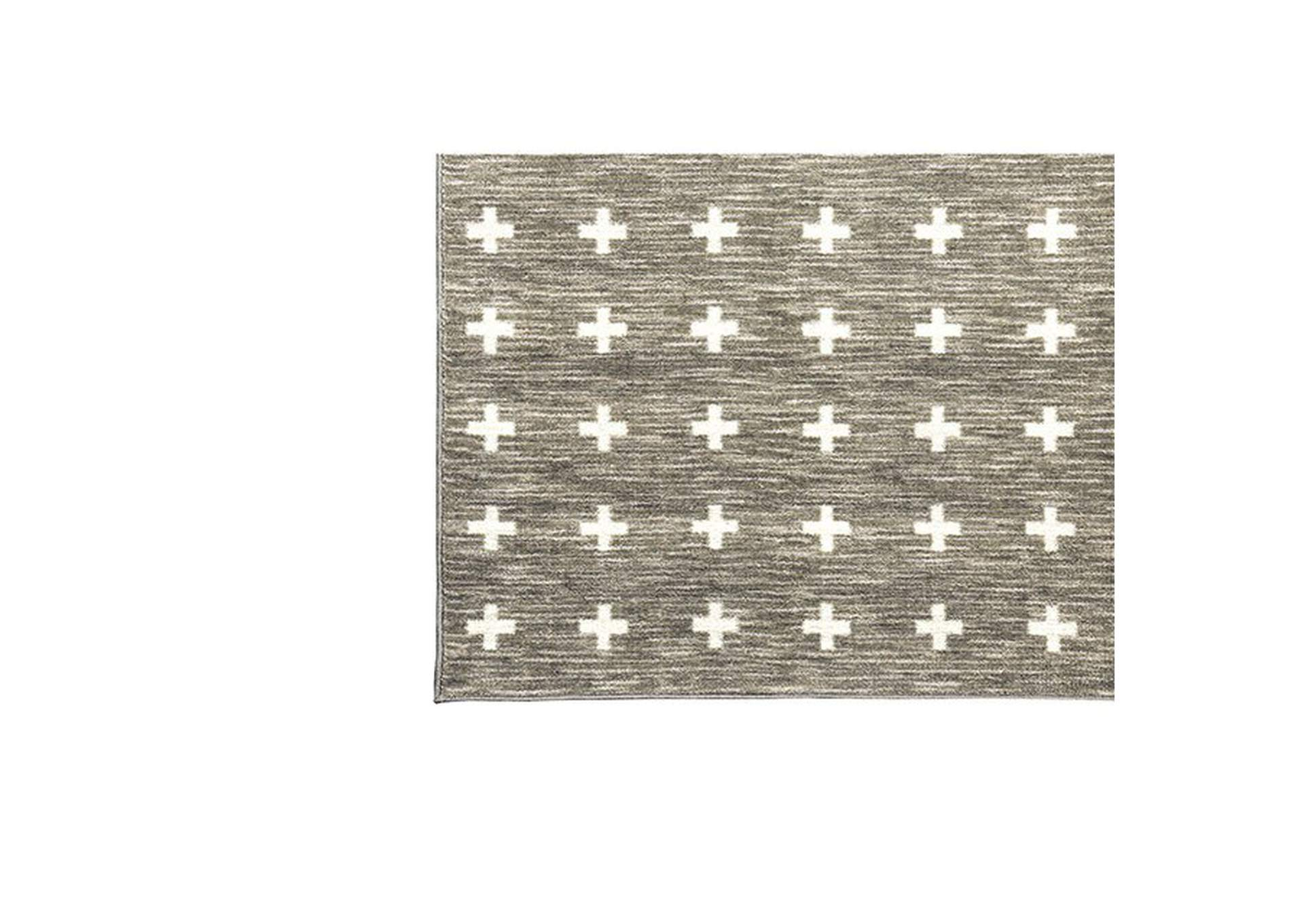 Acanthus Taupe Area Rug,Furniture of America