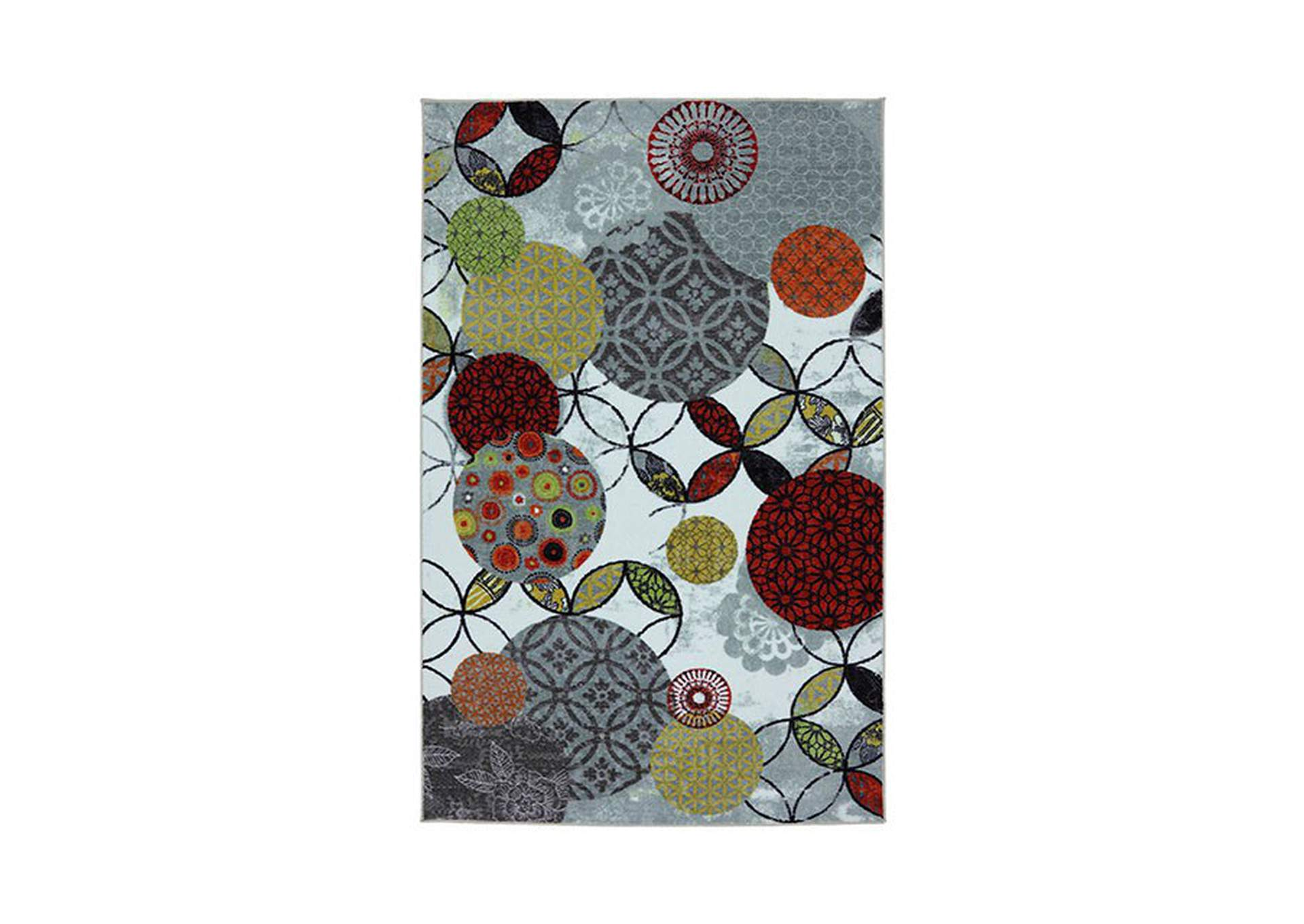 Greenville Multicolor Area Rug,Furniture of America