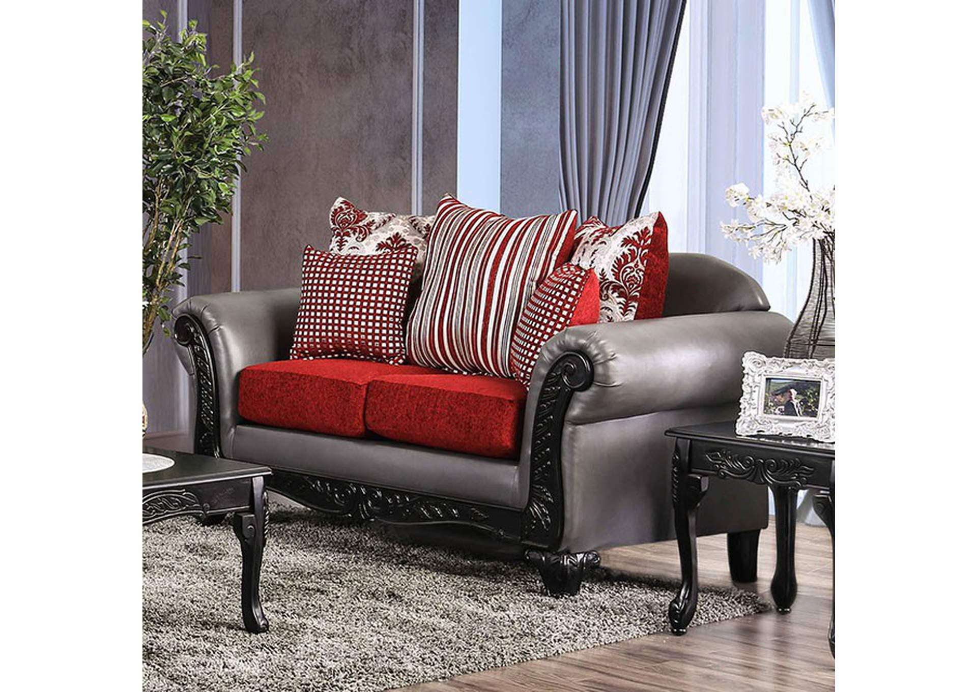 Midleton Loveseat,Furniture of America