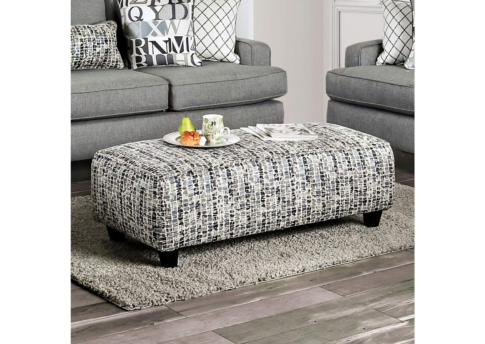 Verne Ottoman,Furniture of America