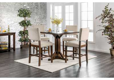 Image for Glenbrook Brown Counter Table w/4 Counter Chair