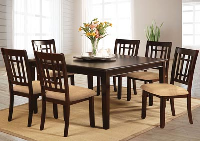 Image for Central Park l Extension Leaf Dining Table w/4 Side Chair