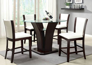 Image for Manhattan lll Counter Table w/4 Counter Chair