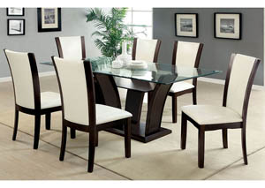 Image for Manhattan l Dining Table w/6 Side Chair