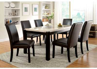 Image for Gladstone l Marble Top Dining Table w/4 Side Chair