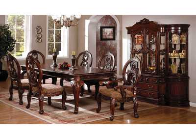 Image for Tuscany ll Antique Cherry Extension Dining Table w/4 Side Chair & 2 Arm Chair