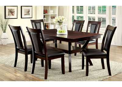 Image for Brent Faux Marble Insert Top Dining Table w/4 Side Chair