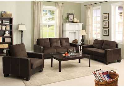 Image for Laverne Chocolate Sofa and Loveseat