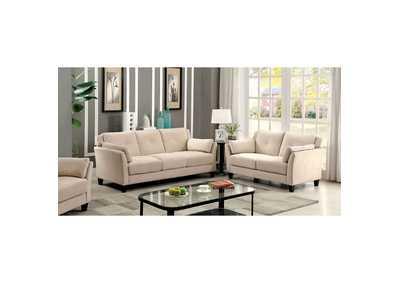 Image for Ysabel Beige Sofa and Loveseat