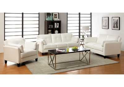 Image for Pierre White Sofa and Loveseat