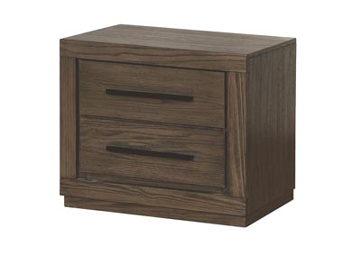 Oakburn Brown Nightstand