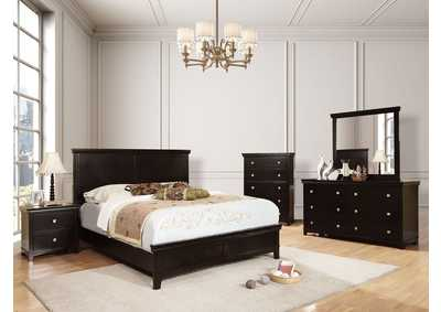 Image for Spruce Espresso Full Bed w/Dresser and Mirror