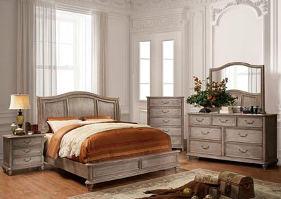 Image for Belgrade II Rustic Natural Tone California King Platform Bed w/Dresser and Mirror