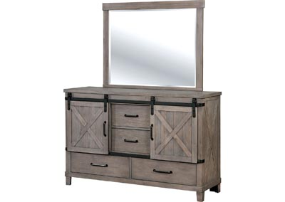 Bianca Dresser and Mirror,Furniture of America