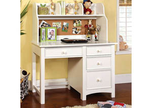 Image for Omnus White Desk w/Hutch