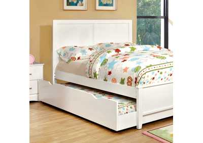Prismo White Dresser and Mirror,Furniture of America