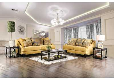 Image for Viscontti Gold Sofa and Loveseat