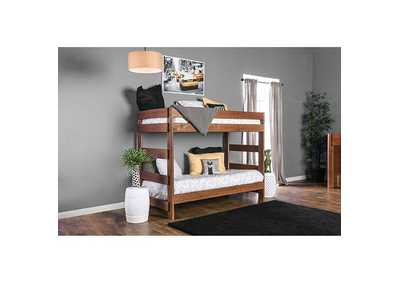 Image for Arlette Mahogany Twin/Twin Bunk Bed
