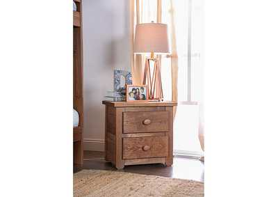 Image for Lea Mahogany Night Stand