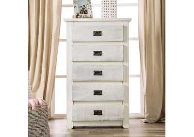 Image for Rockwall Wire-Brushed White Chest