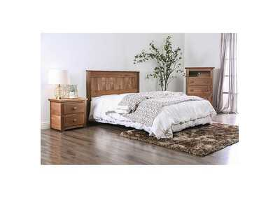 Image for Ila Mahogany Queen Headboard