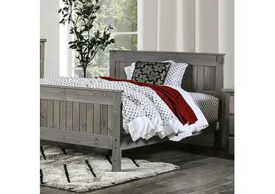 Image for Rockwall Weathered Gray Full Bed