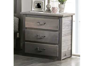 Image for Rockwall Grey Nightstand