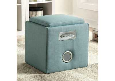 Image for Rythmo Blue Bluetooth Speaker Ottoman