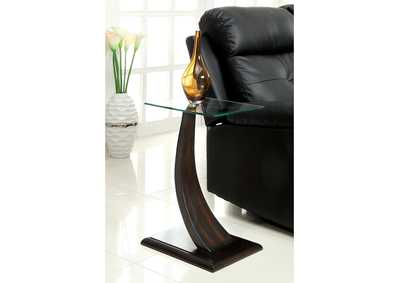 Image for Valon Dark Walnut Side Table