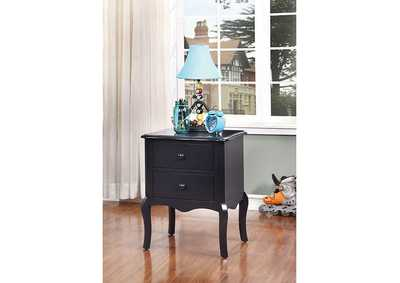 Image for Lexie Blue 2 Drawer Nightstand