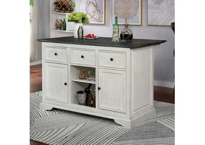 Image for Scobey Grey Kitchen Island