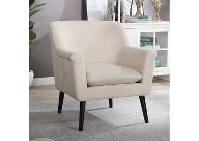 Image for Joline White Accent Chair