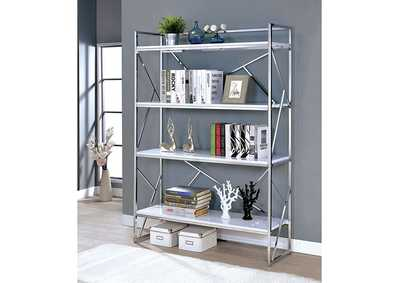 Image for Gustav White Bookcase