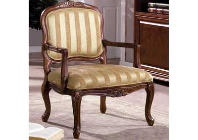 Image for Burnaby Antique Oak Accent Chair