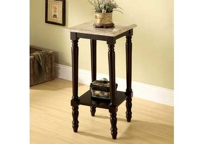 Image for Santa Clarita Dark Cherry Square Top Stand