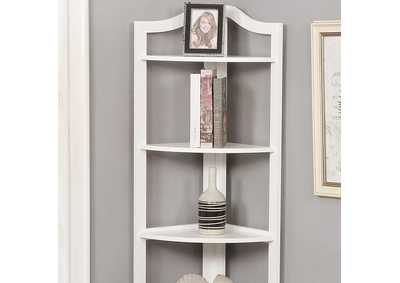 Alyssa White 5-Tier Ladder Shelf