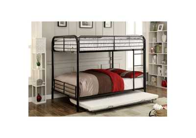 Image for Brocket Black Full/Full Bunk Bed