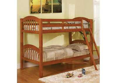 Image for Coney Island Oak Bunk Bed