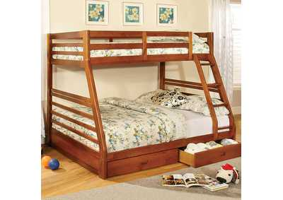 Image for California Oak Bunk Bed