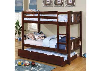 Image for Cameron Dark Walnut Twin/Twin Bunk Bed