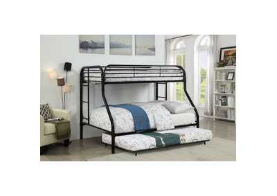 Opal Black Metal Trundle,Furniture of America