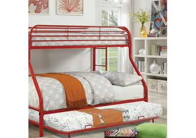 Opal Red Metal Trundle