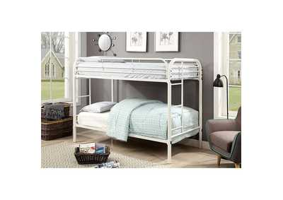 Image for Opal White Twin/Twin Bunk Bed