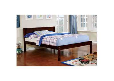 Annemarie Espresso Full Platform Bed