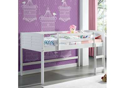 Image for Abigail White Twin Loft Bed
