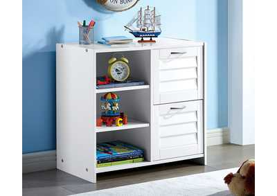 Image for Abigail White 2-Drawer Chest