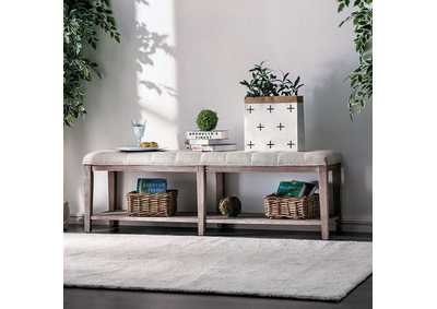 Image for Tayah Beige Bench