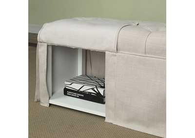 Image for Kilrush Beige Storage Bench