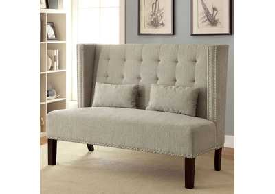 Image for Amora Beige Loveseat